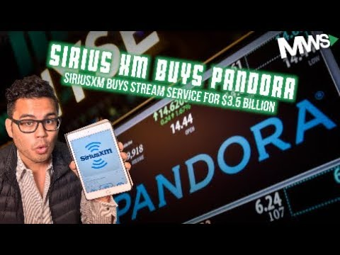 Sirius XM Buys Pandora for $3.5 Billion Mp3