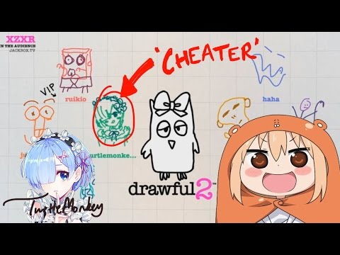 CHEATING ON DRAWFUL 2? Twitch Streamers React To My Drawful 2 Drawings