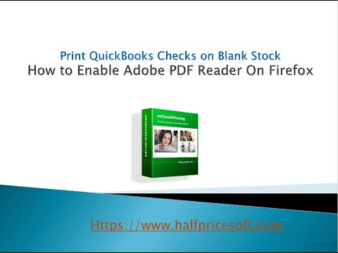 How to Enable Adobe PDF Reader On Firefox
