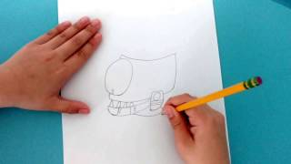 How to draw: Zombot Tomorrow Tron; BEST DRAWING YET