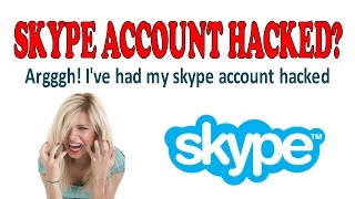 my baidu skype account has been hacked