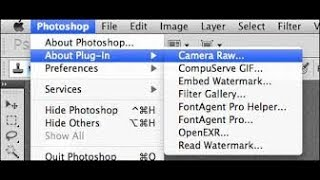 How To Add Camera Raw Filter To Photoshop Cs6