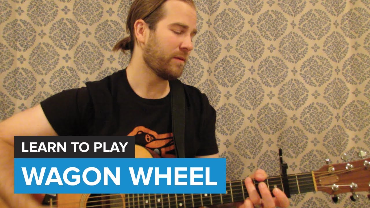 how to play wagon wheel by old crow medicine show guitar chords lesson youtube. Black Bedroom Furniture Sets. Home Design Ideas