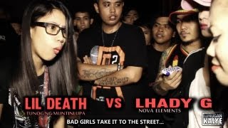 Repeat youtube video R2A - SUNUGAN KALYE LIL DEATH vs LADY G