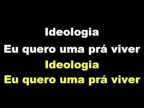 Cazuza - Ideologia ( Karaokê )