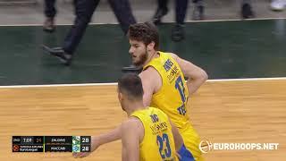 Zalgiris Kaunas - Maccabi Playtika Tel Aviv 81-88: Dragan Bender (16 points)