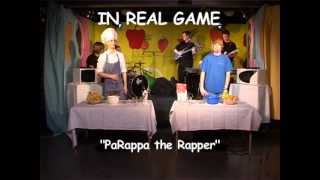 "PaRappa the Rapper ""In real game"""