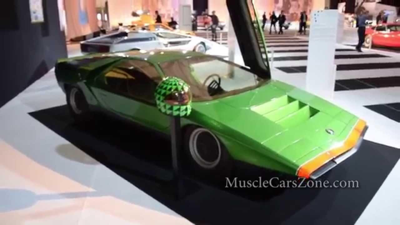 1968 Alfa Romeo Carabo 1971 Maserati Boomerang Concept Car