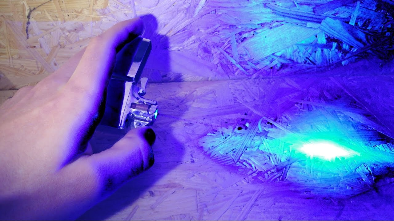 world s most powerful burning laser lighter youtube