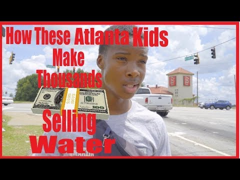 EPIC AMERICA EP 1 OF 20 | WATER BOYS OF ATLANTA| HOW THESE KIDS MAKE THOUSANDS SELLING WATER