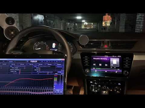Автозвук в шкода суперб (skoda Superb) 2018. Акустика Blam 165.300, усилители, сабвуфер и процессор