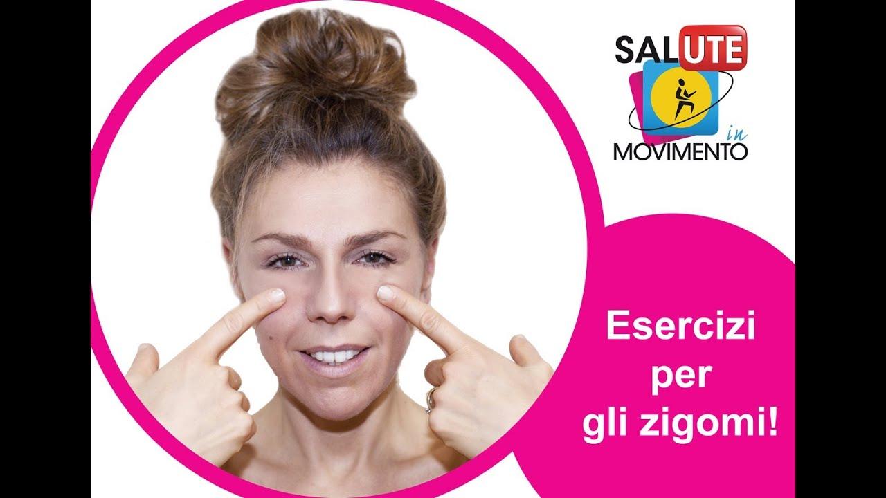 esercizio per ridurre il grasso labiale