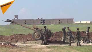 شاهد...كيف وقعت بلدة صوران تحت سيطرة الجيش السوري