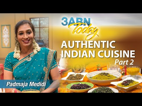 """3ABN Today Cooking - """"Authentic Indian Cuisine Pt.2"""" with Padmaja Medidi (TDYC018024)"""