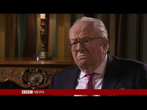 BBC HARDtalk - Jean-Marie Le Pen - Former head of The Nation