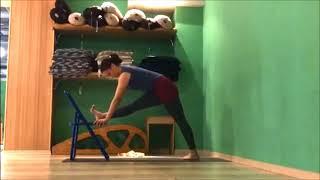 Онлайн урок - Стройные и вытянутые ноги! Комплекс для освоения наклонов и балансов!