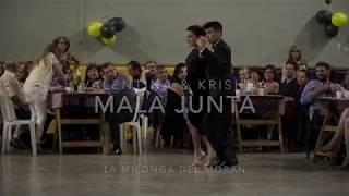 Mala Junta – Valentina & Krishna en La Milonga del Morán