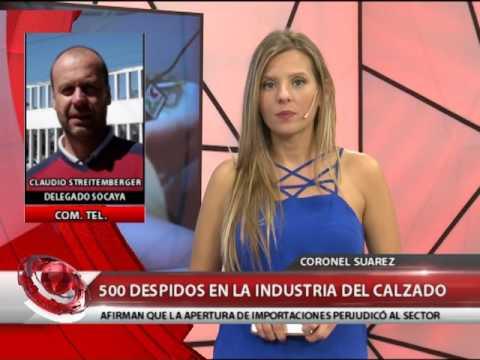 e31c6477 CORONEL SUÁREZ: 500 DESPIDOS EN LA INDUSTRIA DEL CALZADO - YouTube