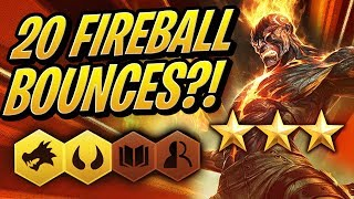 3 STAR BRAND - 20 Fireball BOUNCES!? | Teamfight Tactics | TFT | League of Legends Auto Chess