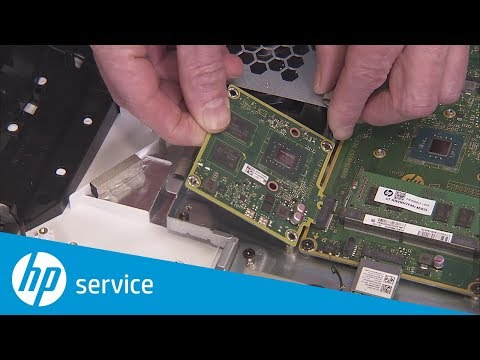 How to Replace the GPU/Video Card | HP All-in-One PC 22-c0000 Series