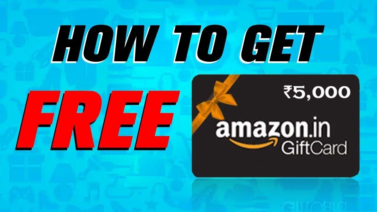 Amazon Gift Card How To Get Free Amazon Gift Card Free Amazon