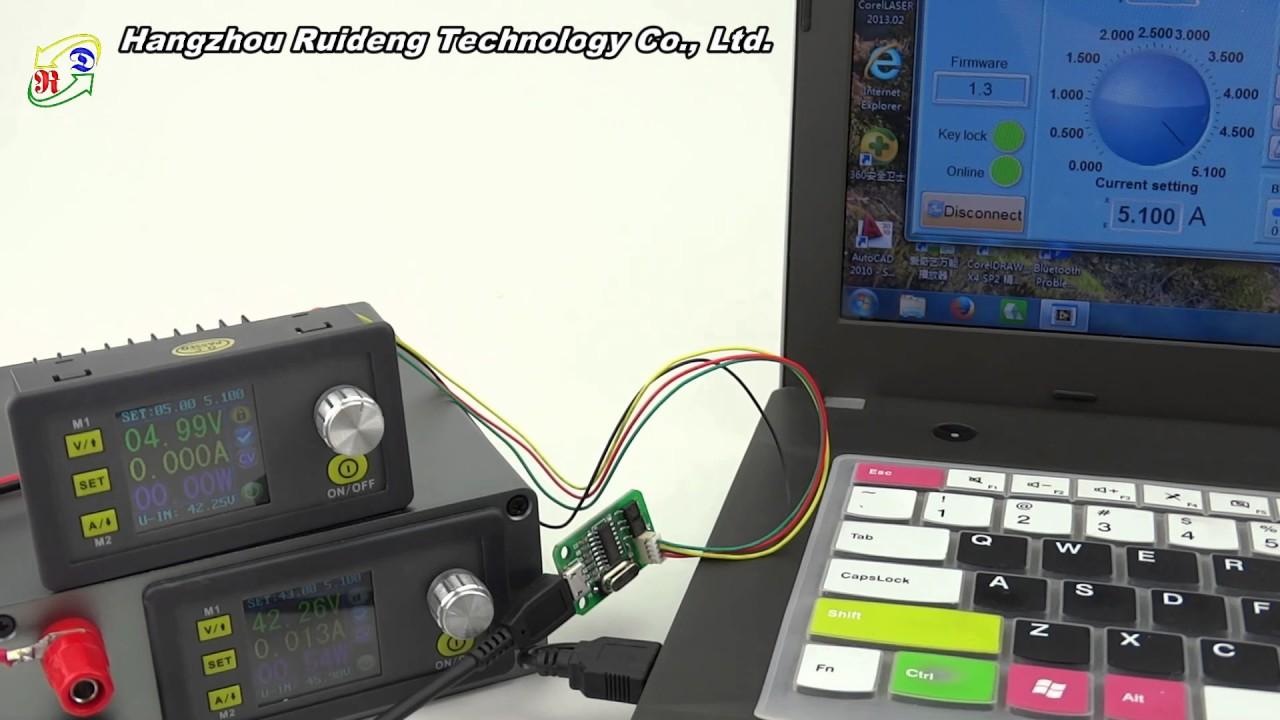DPH5005 Adjustable buck-boost Regulated LCD Digital Power Supply Module ASS