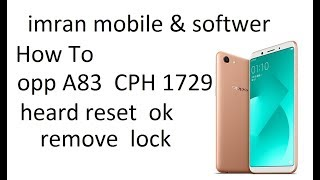 How to hard reset oppo a83 videos / Page 2 / InfiniTube