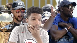 WHY AM I WATCHING THIS... GOLDEN STATE WARRIORS CHAMPIONSHIP PARADE REACTION!