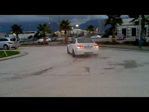 Drifting in Albania Street BMW M3