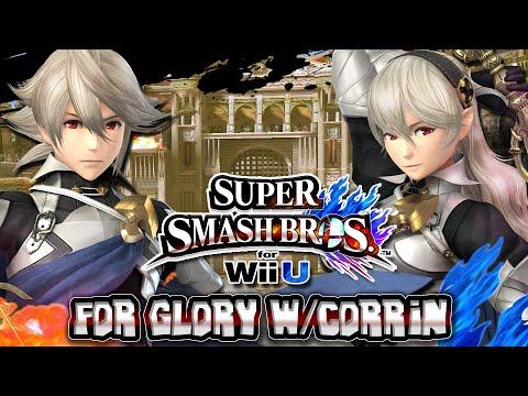 Super Smash Bros Wii U - For Glory w/Corrin DLC & Giveaway!