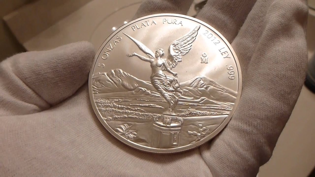 2012 Mexican Silver Libertad 5 Ounce Silver Coin Review