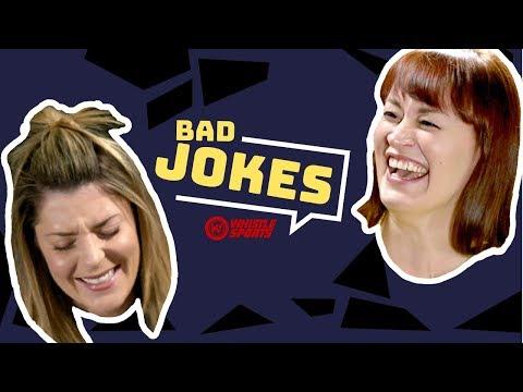 Grace Helbig vs. Mamrie Hart | Bad Joke Telling