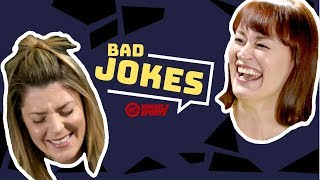Grace Helbig vs. Mamrie Hart | Bad Joke Telling