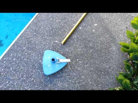Clean Swimming Pool With Severe Algae Problem Kill Vacuum