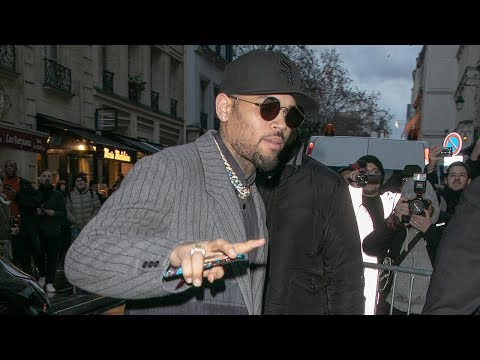 Chris Brown Detained In Paris On Rape Allegations