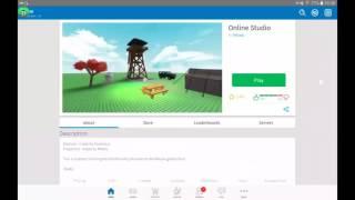 Cómo abrir Roblox Studio en Android
