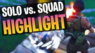 CRAZY FIGHT! Tfue 1v8 Highlight (Fortnite Battle Royale)