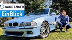 BMW M5 E39 1999 - Die perfekte Power-Limousine! Vorstellung & Test des Traumwagens