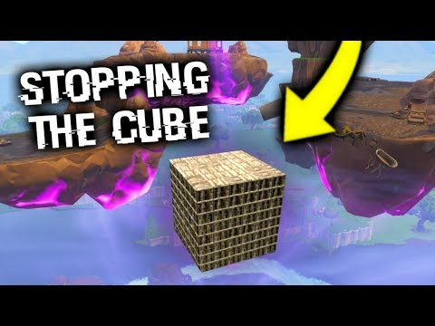 Trying To STOP The Fortnite Cube Explosion