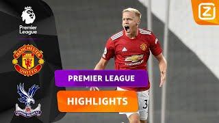 DEBUUT DONNY VAN DE BEEK! ⚽   Man United vs Crystal Palace   Premier League 2020