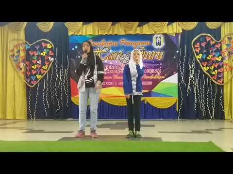 Persembahan Wani & Ariesya, Hari Guru SK Batu Belah 2018 (Oh Kawanku ~ Nur Nilam Sari)
