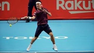 Highlights: Nishikori, Medvedev Book Final Clash In Tokyo 2018