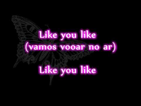 Aggro Santos - Like U Like Lyrics Video (feat Kimberley Walsh)