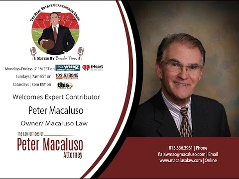 THE REAL ESTATE QUARTERBACK SHOW w/ Peter Macaluso, James Lascano REQB Show 04.07.16