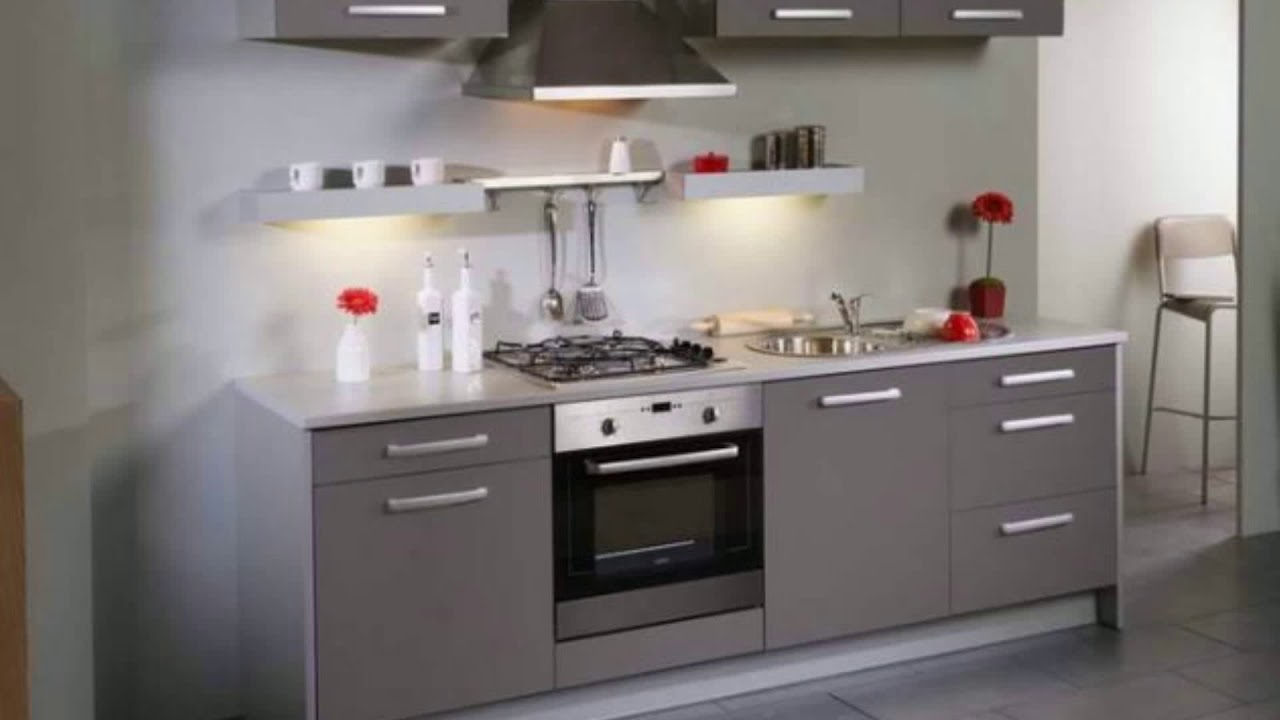 meubles cuisine leroy merlin youtube. Black Bedroom Furniture Sets. Home Design Ideas