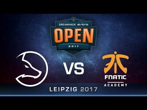 Team LDLC vs Fnatic academy game 1 de_cache [DreamHack ASTRO Open Leipzig] 15.01.2017