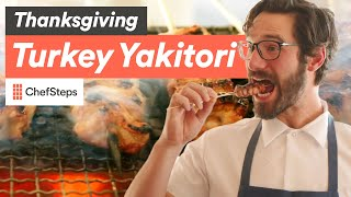 Transform Your Thanksgiving with Turkey Yakitori