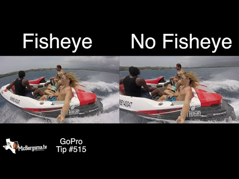 GoPro Photo / Video - Fisheye / No Fisheye Look Comparison - GoPro Tip #515
