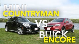 2017 MINI Countryman S vs Buick Encore Comparison