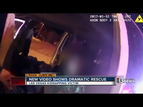 New video shows rescue of kidnapped Las Vegas woman in New Mexico